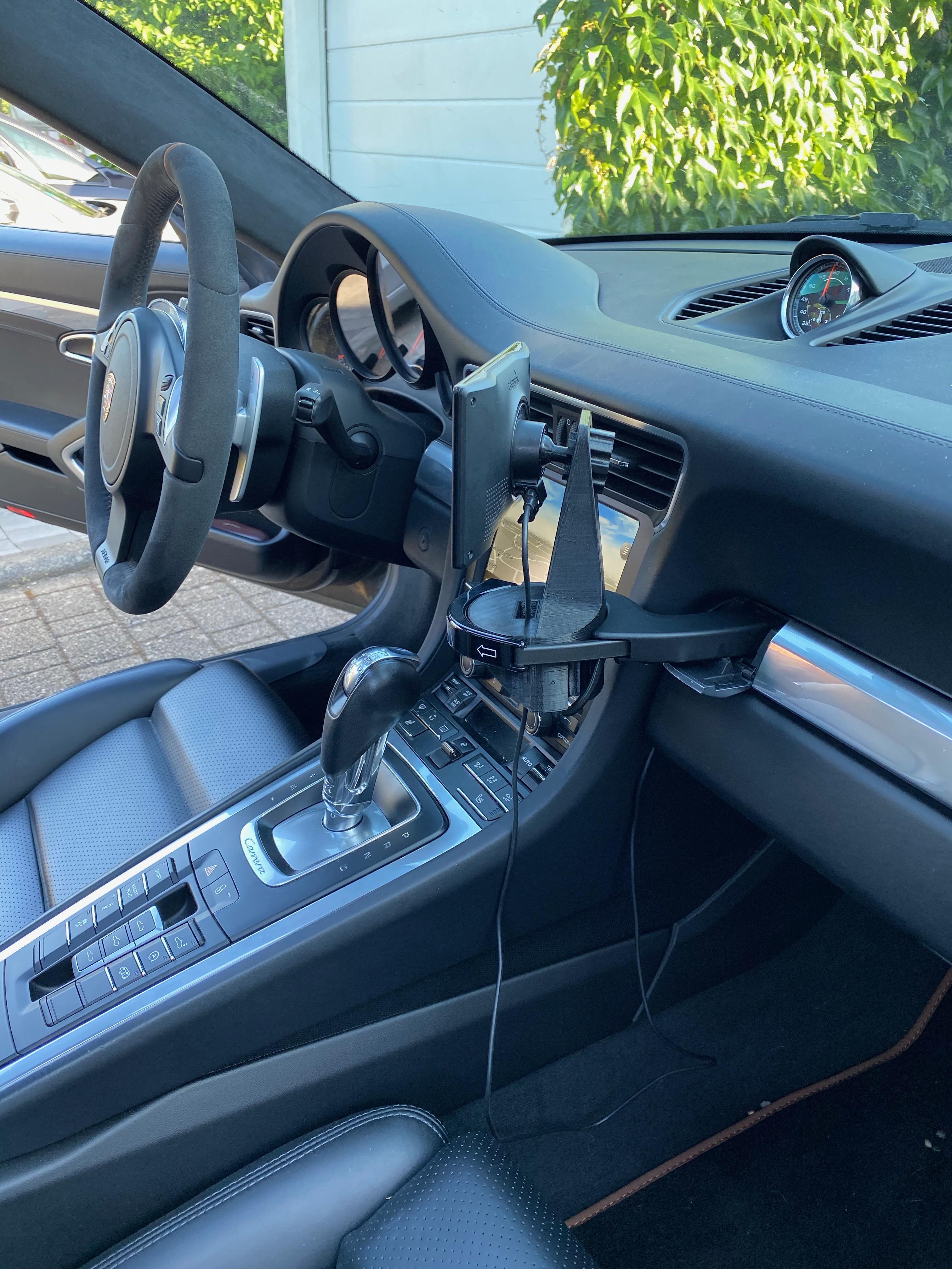 Halterung für Garmin Navi passend für Porsche 986/987/997/991/992/981/usw.